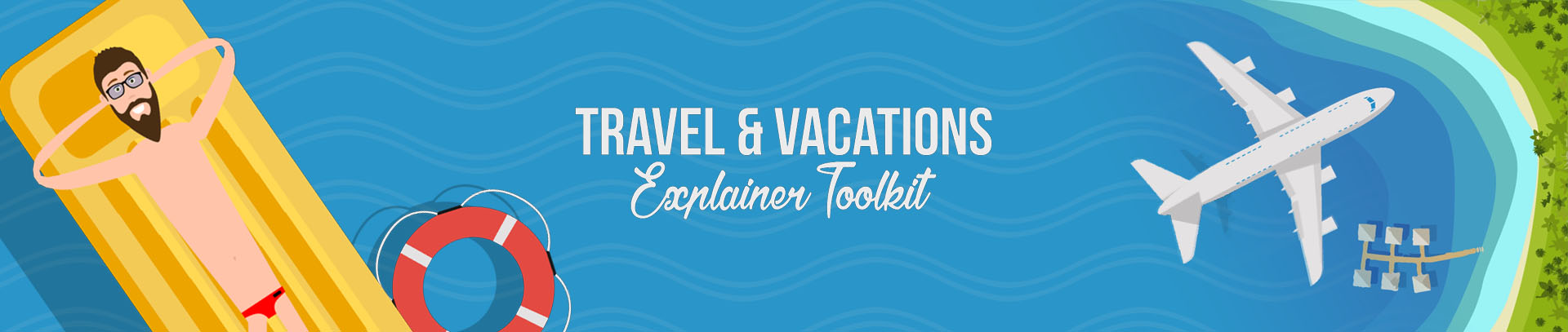 Travel & Vacations Explainer Toolkit (slide)